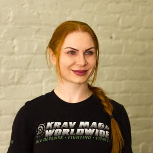 Krav Maga Instructor Sasha Khlybova - Teaching Krav Maga Teens