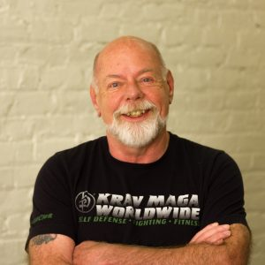 Krav Maga Challenge Instructor and KMSF Owner and Founder Barny Foland Improvised Weapons and Shields Seminar