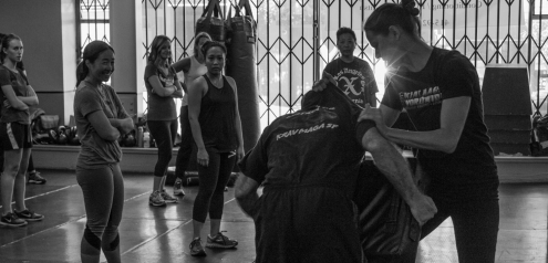 Women's 2 Day Seminar, Corporate Krav Maga Seminar