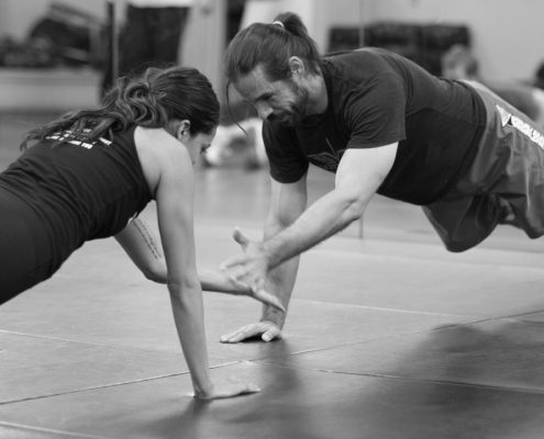 Krav Maga Self Defense - San Francisco Training Center student and teacher