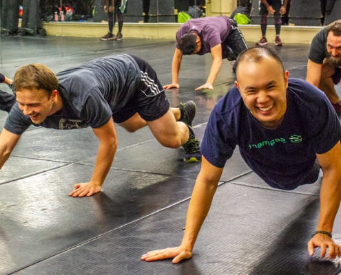 Fitness for Self Defense taught at Krav Maga San Francisco